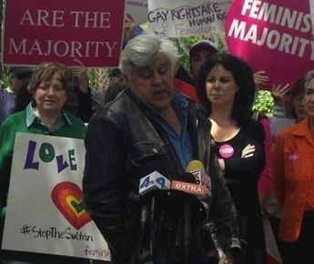 Jay Leno Joins LGBT Leaders To Protest Barbaric Antigay Owner Of Landmark Hotel   Daily Crew   Scoop.it
