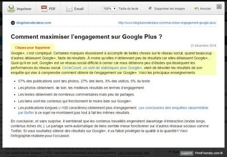 Imprimer une page web sans les images et la publicité : Print Friendly (Google Chrome) | ParisBilt | Scoop.it