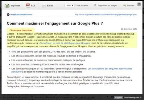 Imprimer une page web sans les images et la publicité : Print Friendly (Google Chrome) | François MAGNAN  Formateur Consultant | Scoop.it