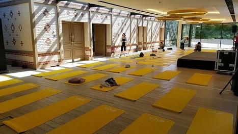 J'peux pas j'ai yoga, un rendez-vous zen et healthy où nous avons découvert un cours de Vinyasa avec Clotilde Chaumet - Carnets de Week-Ends | Paris Culture | Scoop.it