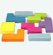 Tetris Inspired Sticky Notes For Your Geeky Office | Geek.it | Scoop.it