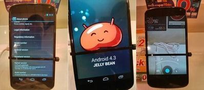 Android 4.3 leaked [Video]   My smartphone   Scoop.it
