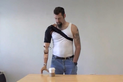 DARPA's Brain-controlled Prosthetic Arm and a Bionic Hand That Can Touch | Longevity science | Scoop.it