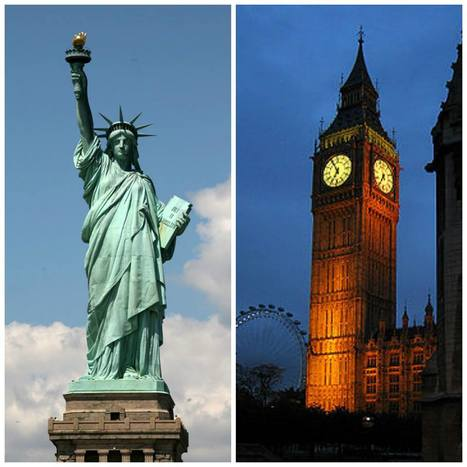 Make your choice:-)  New York or London? | Combo Holidays | Scoop.it