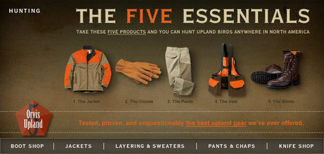 Hunting Gear | Hunting Equipment|Hunting -- Orvis | JS hunting | Scoop.it