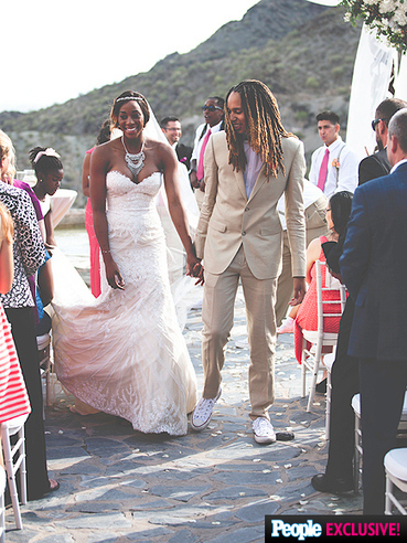 Brittney Griner y Glory Johnson han celebrado su boda el pasado fin de semana | Basket-2 | Scoop.it