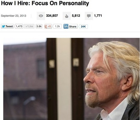 Richard Branson Makes the Business Case for the Personal Story | Personal Story is Brand | Scoop.it