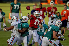 Ryan Tannehill enters spotlight for Miami Dolphins' preseason opener - Miami Dolphins - MiamiHerald.com | READ WHAT I READ | Scoop.it