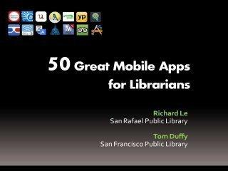 50 Apps for Librarians | Media ja kirjasto | 2.0 Tech Tools for Education | Scoop.it