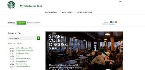 Starbucks, c'est la marque et l'individu au centre | Créations de liens | Scoop.it