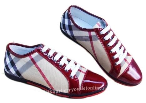 Burberry Men Classic Nova Check Sneaker Red [B005757] - $149.00 : Burberry Outlet Stores,Burberry Outlet Online,Cheap Burberry For Sale | Burberry | Scoop.it