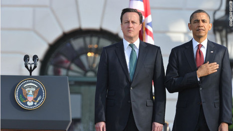 Cameron and Obama: No 'bromance' here - CNN.com | Comparative Government and Politics | Scoop.it