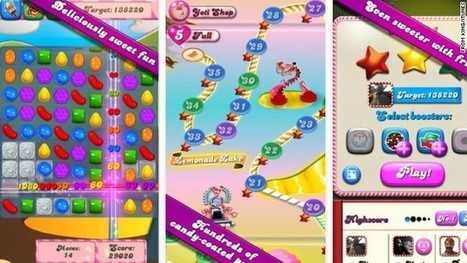 """""""Candy Crush"""", la dulce adicción de millones en Facebook   de todo un poco en internet   Scoop.it"""