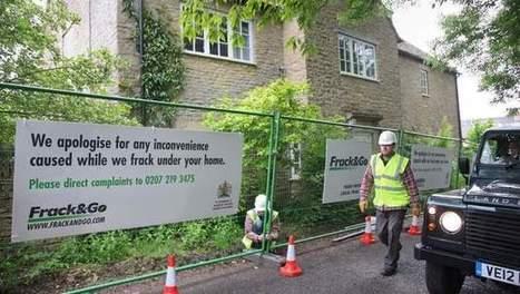 Greenpeace plaatst hek om huis David Cameron | 2014 | Scoop.it