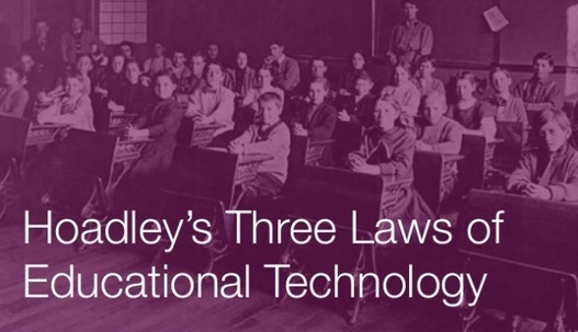 Hoadley's 3 Laws Of Education Technology | Clim...