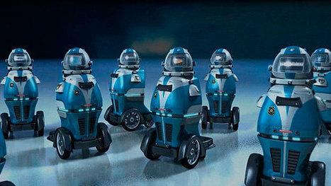 Ramsee, un robot diseñado para ser vigilante de seguridad - ComputerHoy.com   Robótica Educativa   Scoop.it