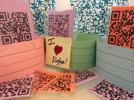 Free, Printable QR-Coded Classroom Rules | Scholastic.com | Cool School Ideas | Scoop.it