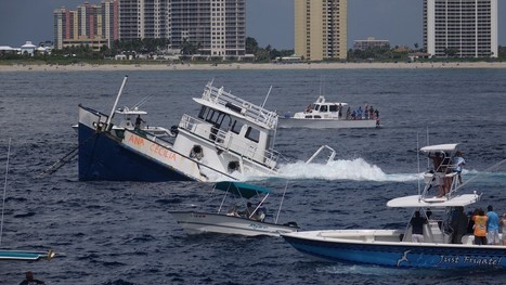 Palm Beach County sinks cargo ship to create artificial reef | ScubaObsessed | Scoop.it