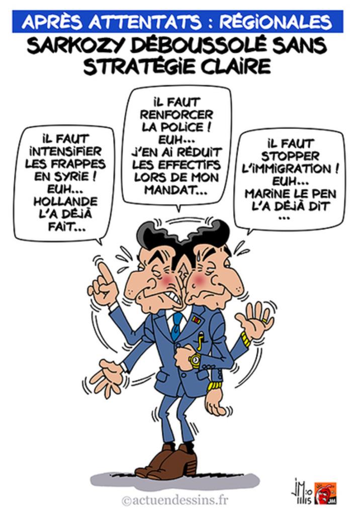 Régionales : Sarkozy sans stratégie claire… | Baie d'humour | Scoop.it