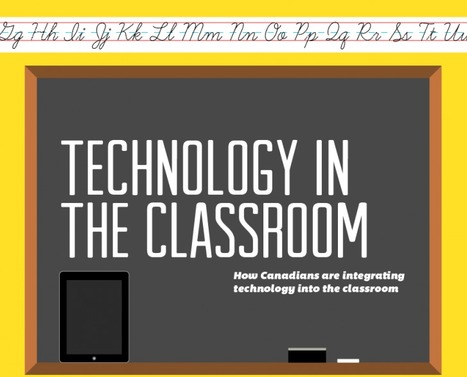 How Canadians Are Integrating Technology Into The Classroom | Edudemic | Mobile Learning in Practice | Scoop.it