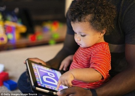 More than half of toddlers can use iPad when they are ONE - Daily Mail | iPads in Education | Scoop.it
