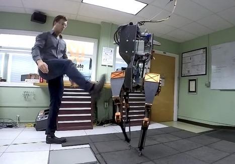 Rencontrez ATRIAS, le robot bipède doté d'un sens de l'équilibre à toute épreuve - SciencePost | Une nouvelle civilisation de Robots | Scoop.it