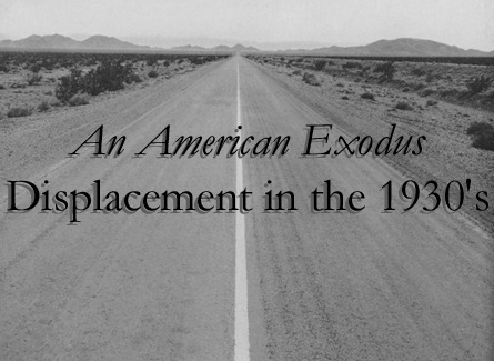 The Great Depression:  American Exodus Dislocation in the 1930's | Roll of Thunder Hear My Cry | Scoop.it