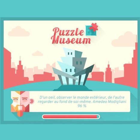Puzzle Museum, un Serious Game à la découvertes des œuvres d'art | SeriousGame.be | Scoop.it