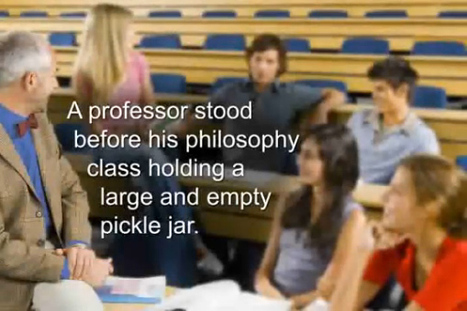 """The Empty Pickle Jar - art of """"Putting First Things First"""" - Empower within. 
