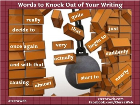 Words to Knock Out of Your Writing - XterraWeb | Writing Rightly | Scoop.it