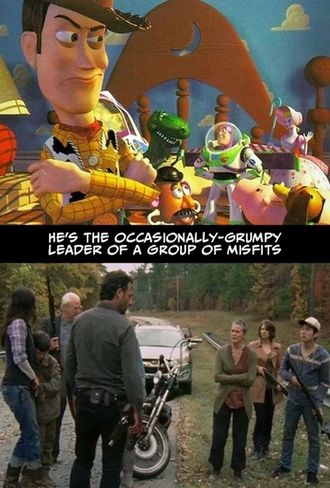 "Undeniable Proof That ""The Walking Dead"" And ""Toy Story"" Have The Exact Same Plot 