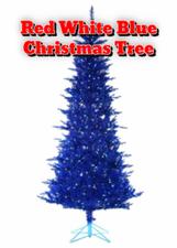 Red White Blue Christmas Tree | Stuff I Like | Scoop.it