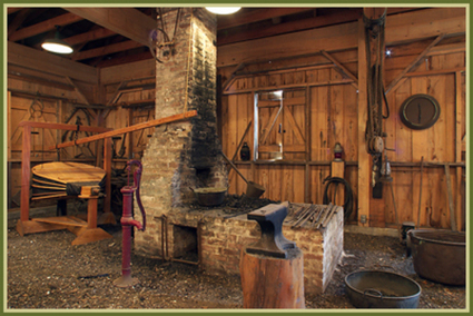 Blacksmith Shop at Oak Alley Plantation in Vacherie, LA. | PlanetWare | Oak Alley Plantation: Things to see! | Scoop.it