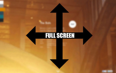 How to view webpage in fullscreen using jQuery and HTML5 API | W3lessons | Scoop.it
