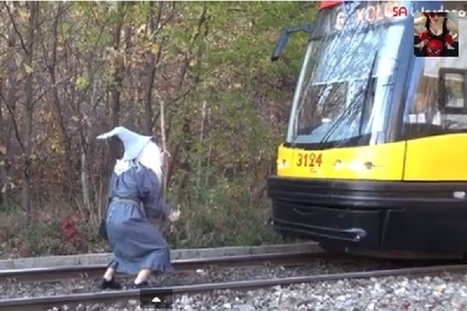'Hobbit' Fans Halt a Fearsome Tram in 'Lord of the Rings' Prank ... | 'The Hobbit' Film | Scoop.it