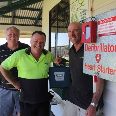Defibrillator saves man's life at Walpole Country Club | Farm Safety | Scoop.it