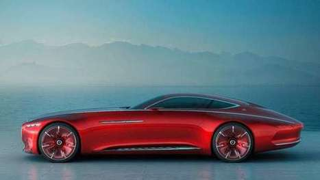 Gargantuan Vision Mercedes-Maybach 6 elegantly combines past and future | Chasing the Future | Scoop.it