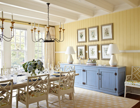 How to Pick the Perfect Accent Color | Designing Interiors | Scoop.it