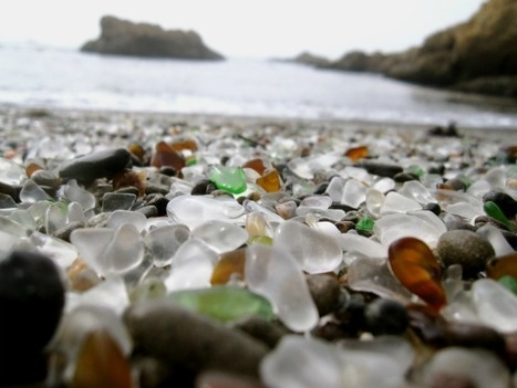 Wave Power Transforms a Dumping Ground into a Sparkling Glass Beach | Urban Design | Scoop.it