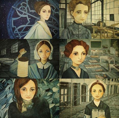 Mujeres | Entre páginas | Mujeres con ciencia | Científicos: biología, medicina, química, geología | Scoop.it