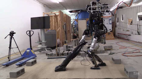 Watch The ATLAS Robot Do Simple Chores Slowly | Robotics | Scoop.it