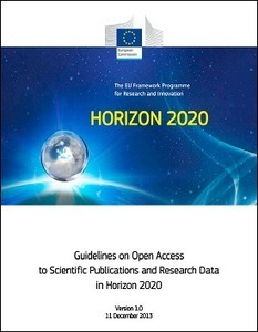 Directrices sobre el acceso abierto a las publicaciones científicas y de investigación de datos en Horizonte 2020 | Las Tics y las ciencias de la informacion | Scoop.it