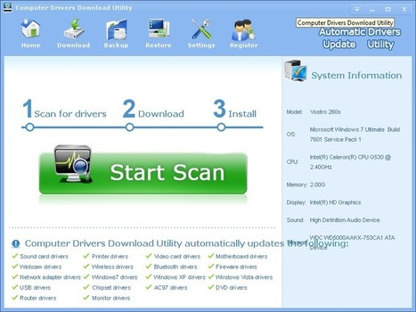 Download and Update free audio Driver software for a e-system Computer; model e214 | Download and Update Computer Drivers | Scoop.it