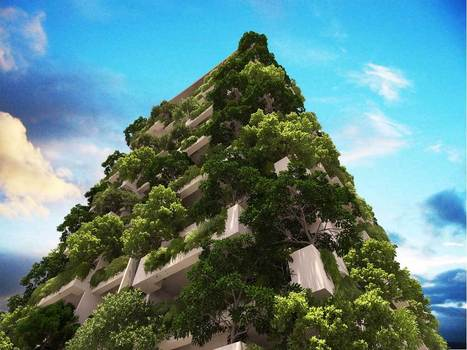 World's Tallest Vertical Garden Growing 162 Apartments on 46 Floors - Industry Tap | Geography | Scoop.it