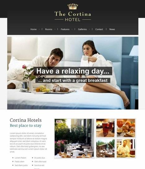 10 Awesome WordPress Hotel Themes - Icon Infomedia   web design   Scoop.it