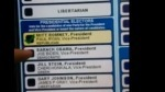 "Watch Voting Machine Change Obama Votes To Romney Votes | TechCrunch | L'impresa ""mobile"" 