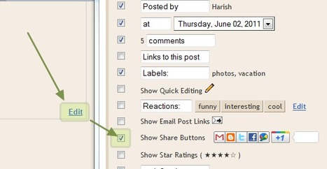 How to Add Official Google +1 Button to Blogger / Blogspot ~ Blogger Widgets | Tips | Trick | Hacks | Help! ~ Way2Blogging | Blogger Help | Scoop.it