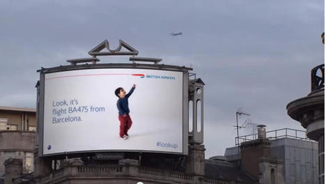 British Airways Digital Billboards Know When A Plane Is Flying Overhead | Marketing in Motion | Scoop.it