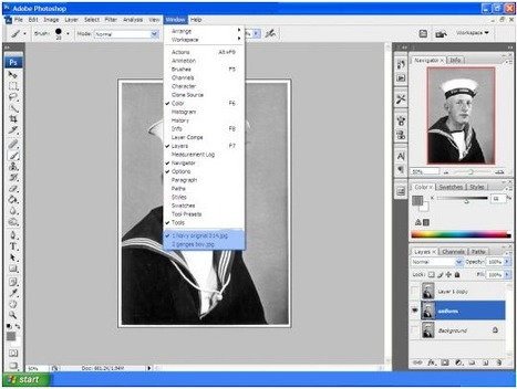 How to Transform Black and White Photographs into Colour using Photoshop | Social media and education | Scoop.it