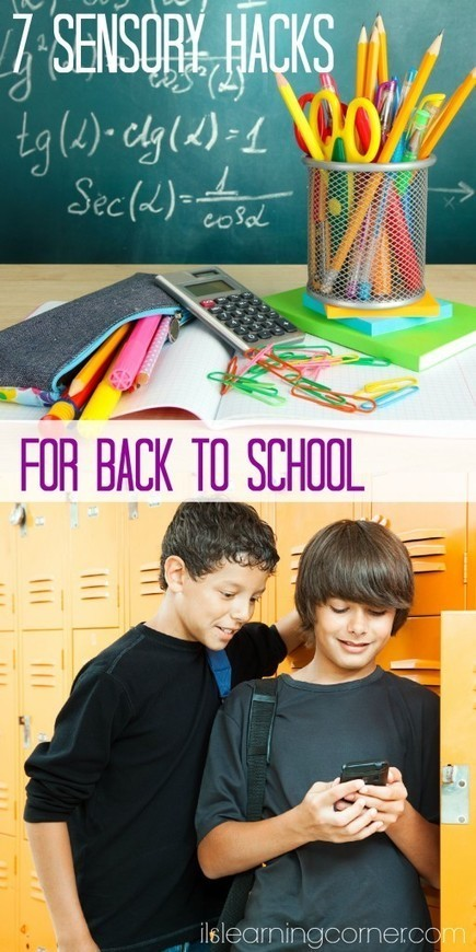 7 Sensory Hacks for a Smooth Back to School Transition - Integrated Learning Strategies | FOTOTECA INFANTIL | Scoop.it